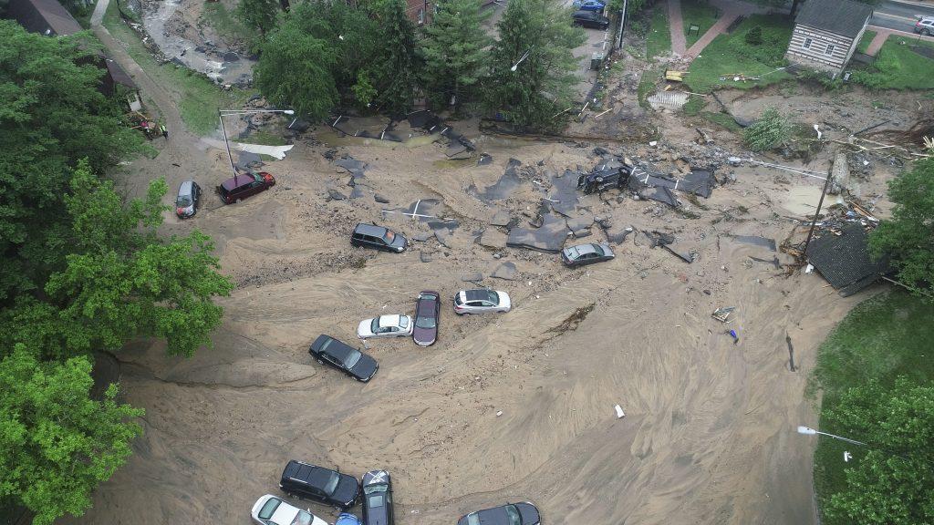 Maryland flood