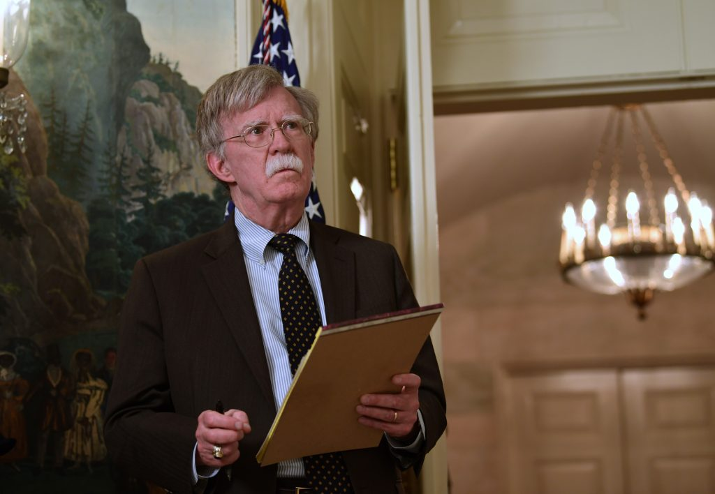 iran sanctions, John Bolton