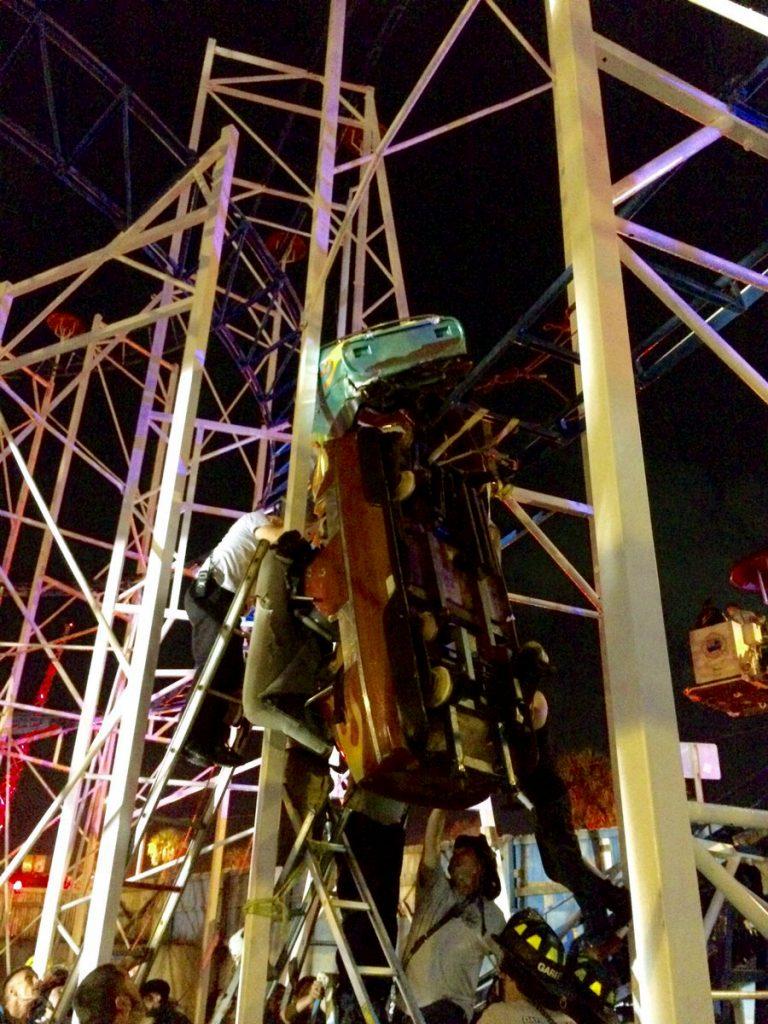 Daytona Beach roller coaster