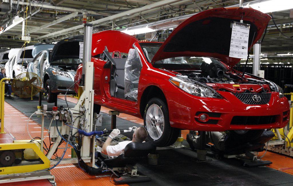 Toyota tariffs