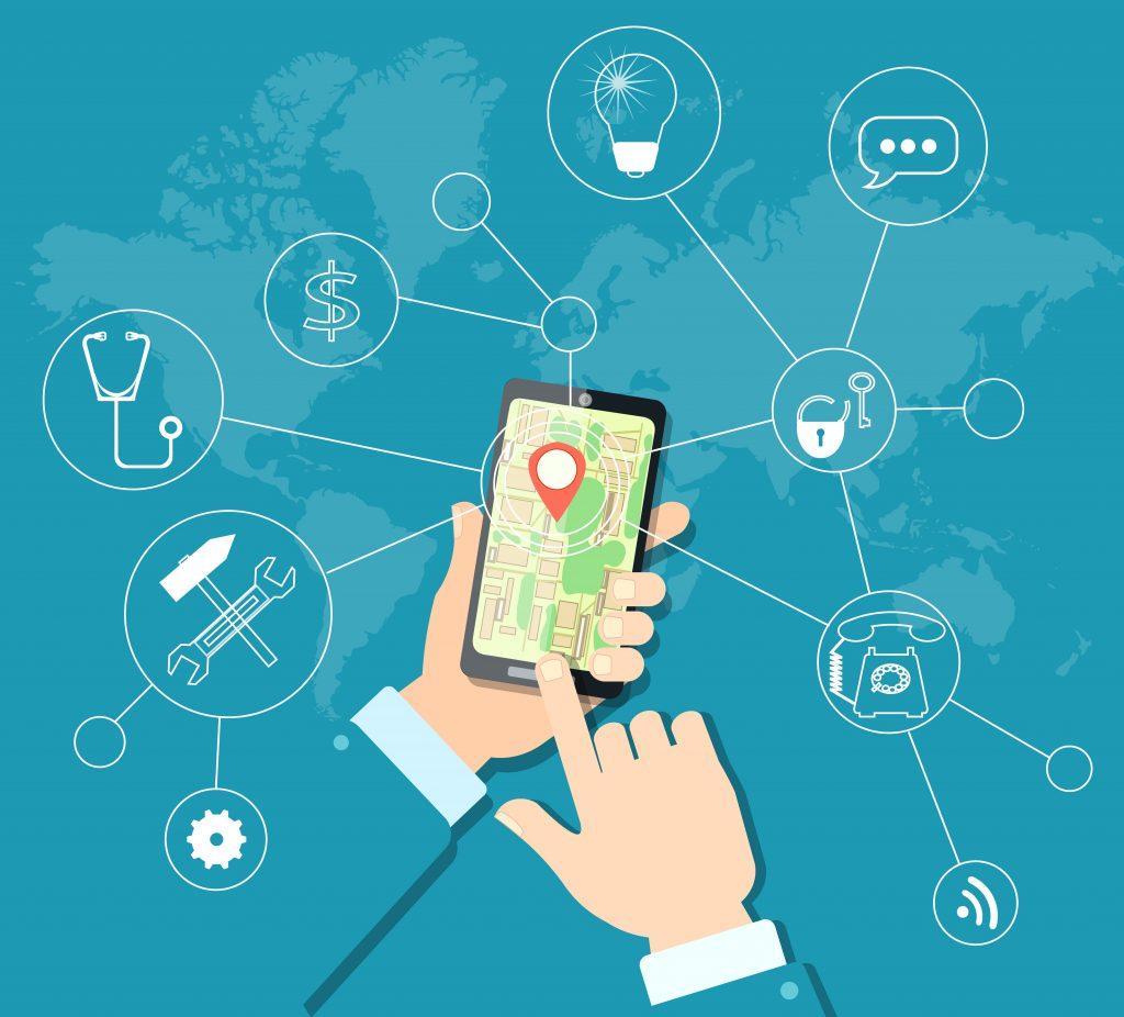 Apple Google, cellphone tracking, data