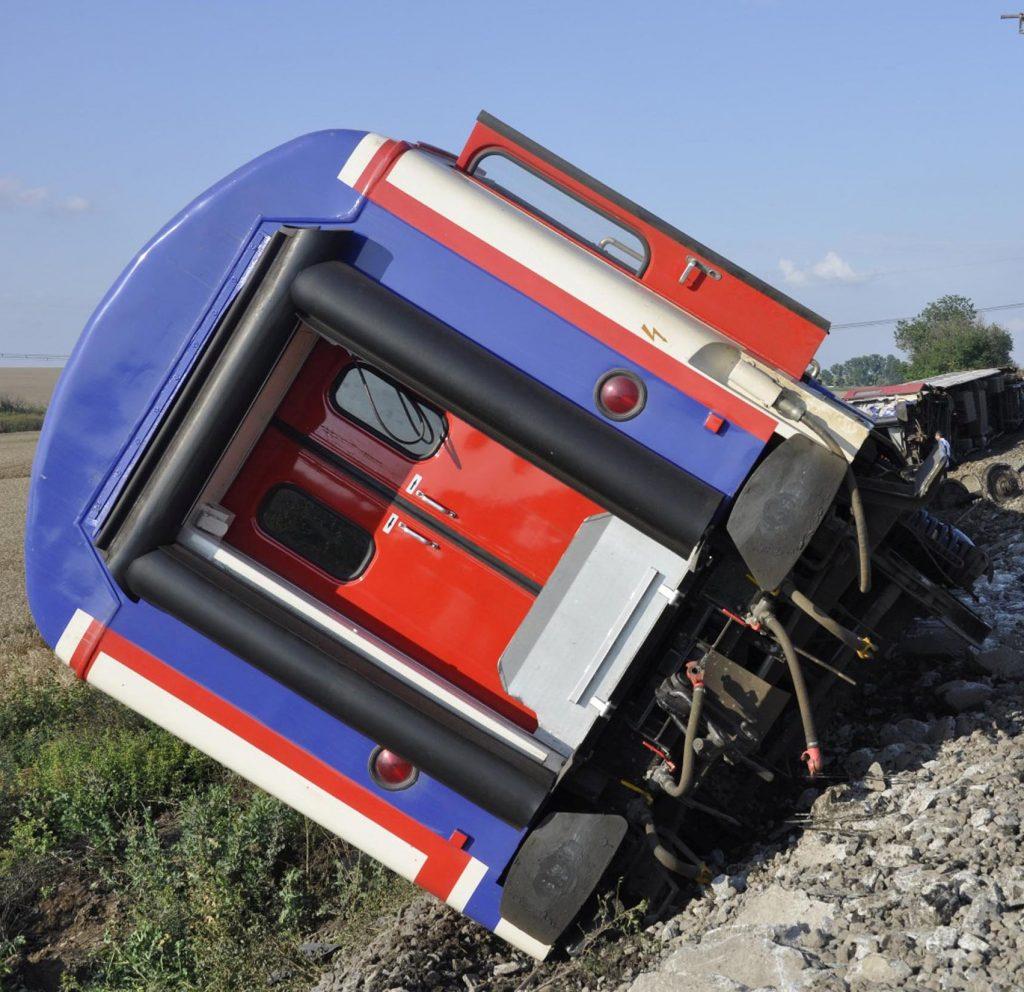train derailment turkey