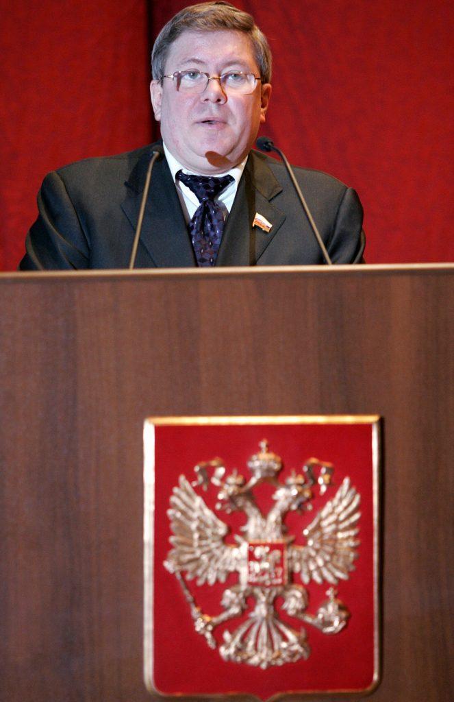 Alexander Torshin, maria butina