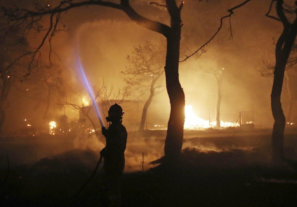 greek wildfires