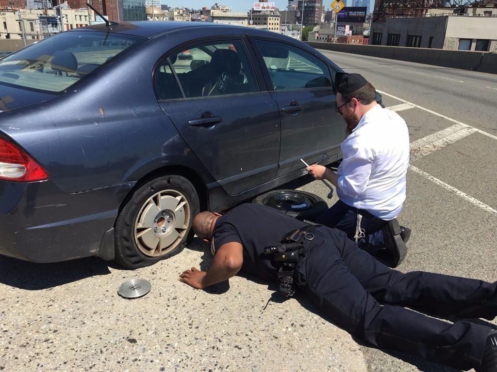 cop jew tire