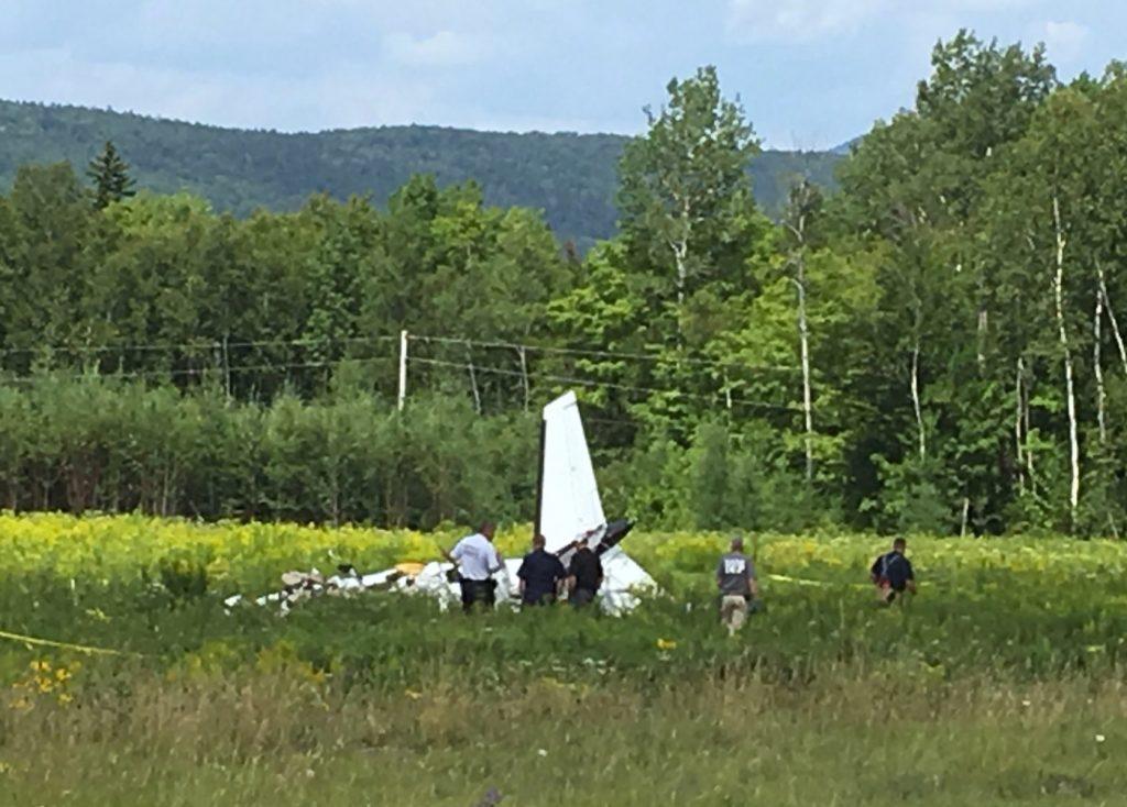 plane crash maine