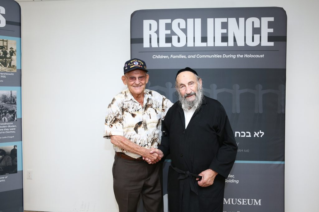 holocaust survivor liberator