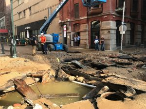 water main Philly