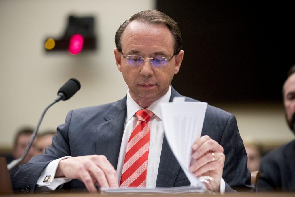 rosenstein impeachment