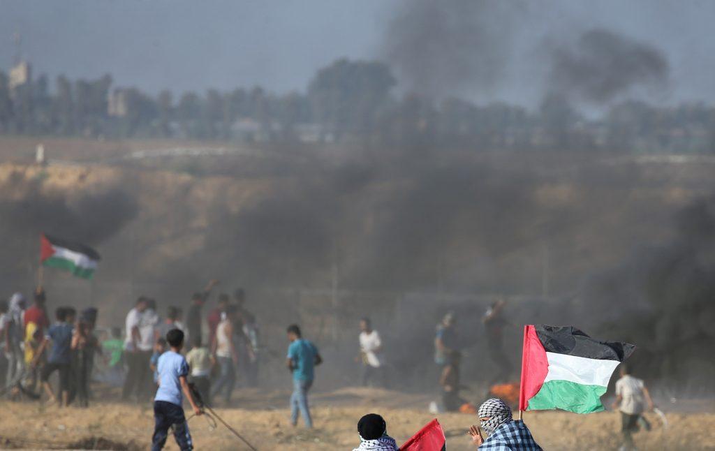 gaza protests