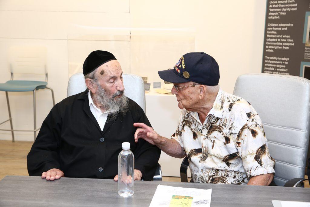 holocaust survivor liberator