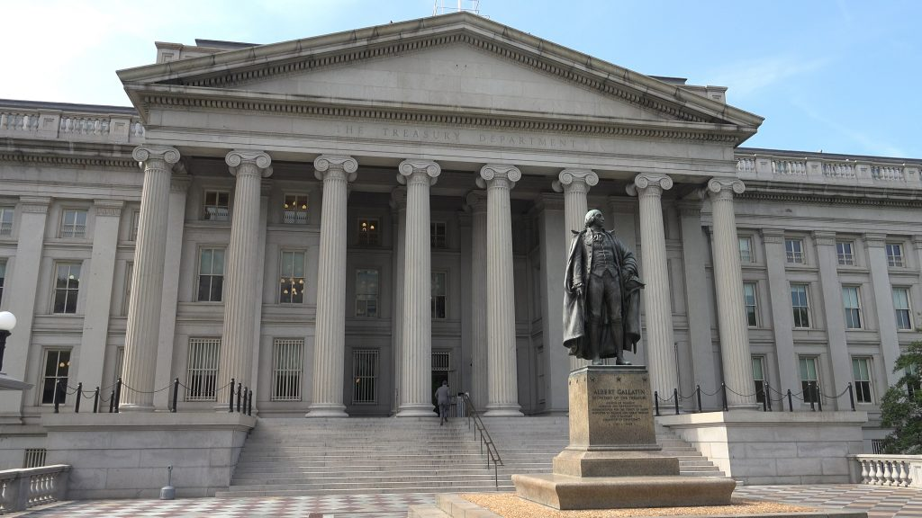 treasury department, pass through tax