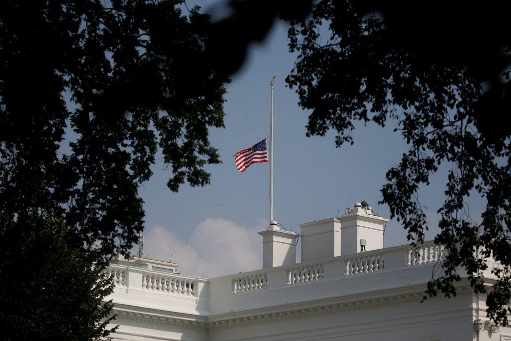 white house flags
