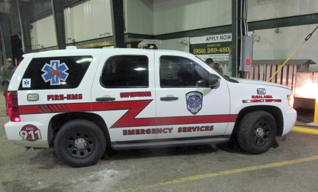 fake emergency vehicle