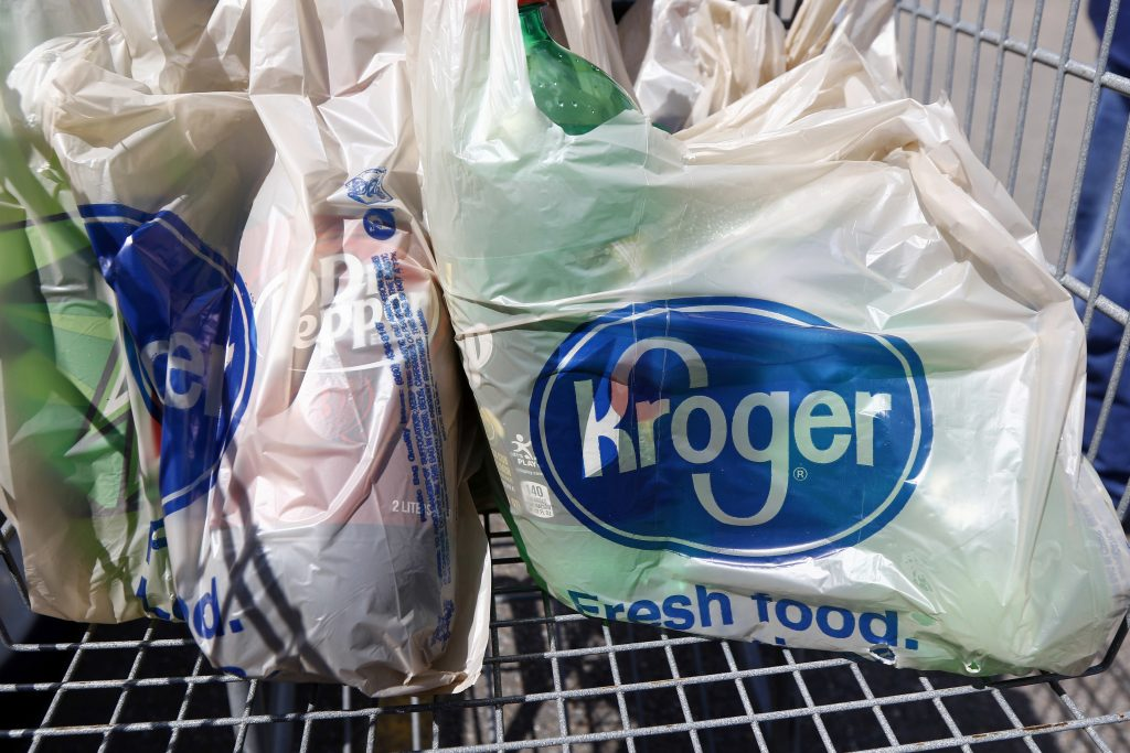 kroger shopping bags