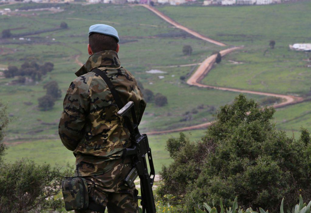 UNIFIL Israel Lebanon border
