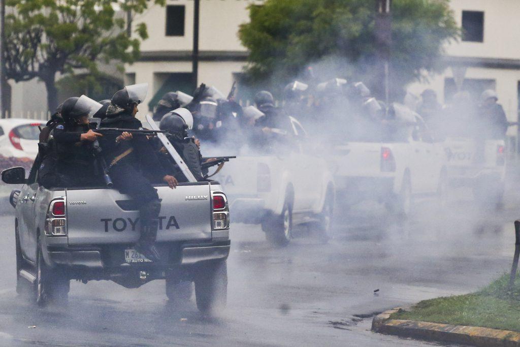 ortega violence