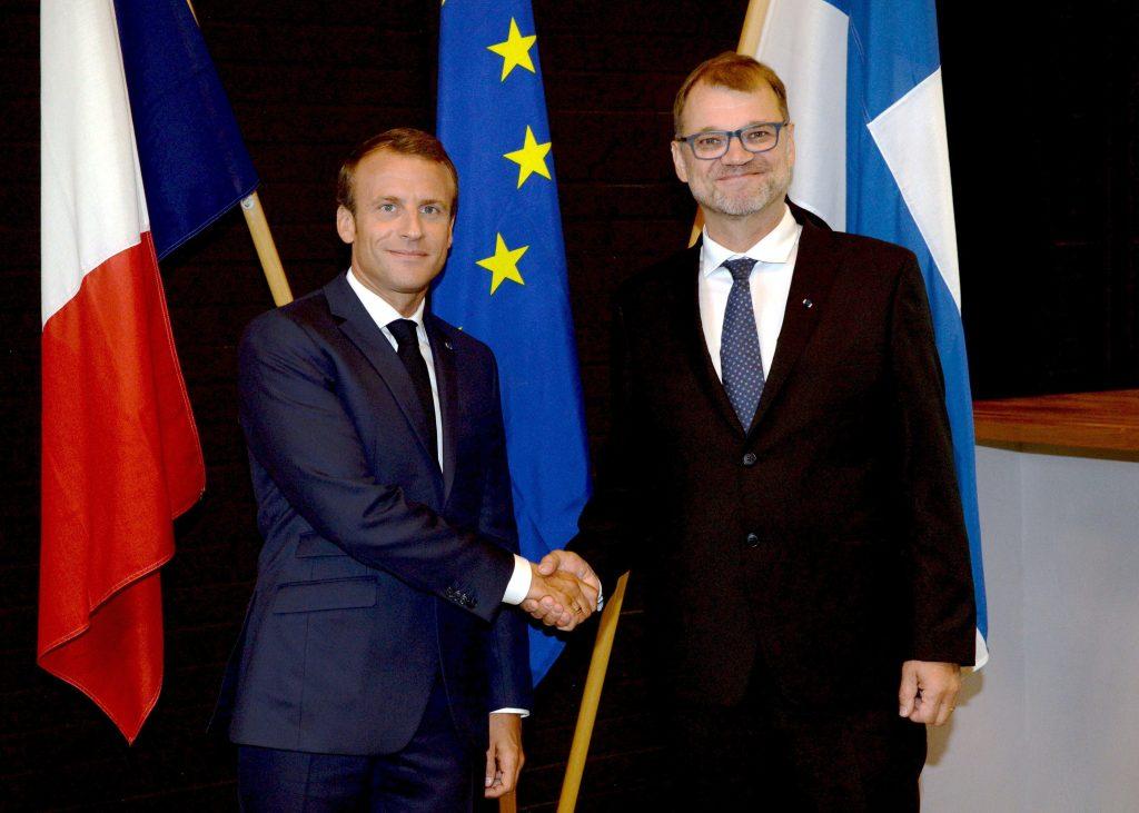 Macron Sipila