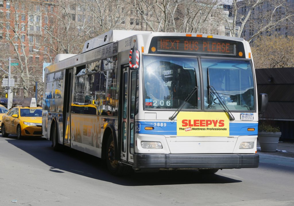 city bus bed bugs
