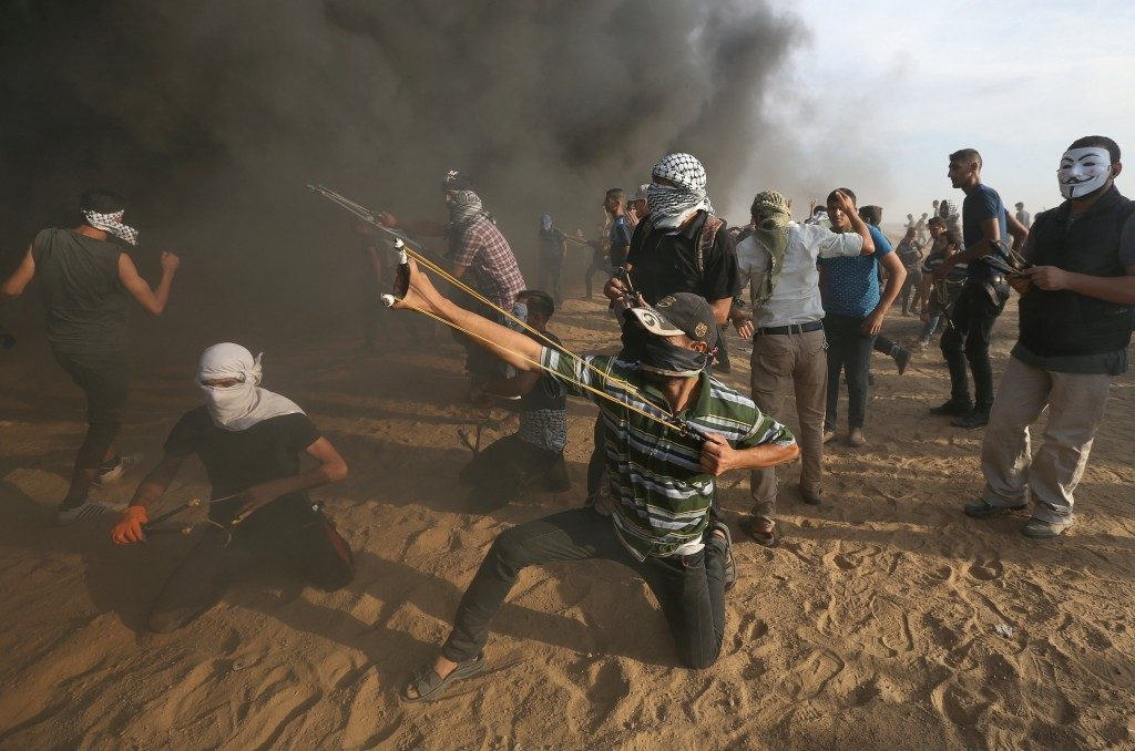 Gaza protes