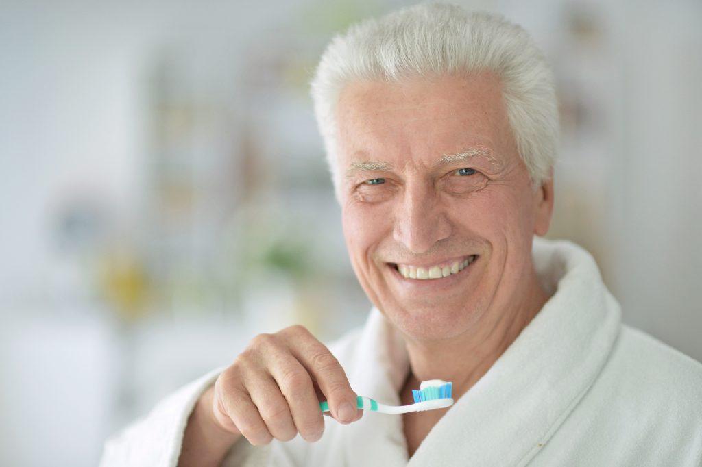 blood pressure teeth, brushing teeth