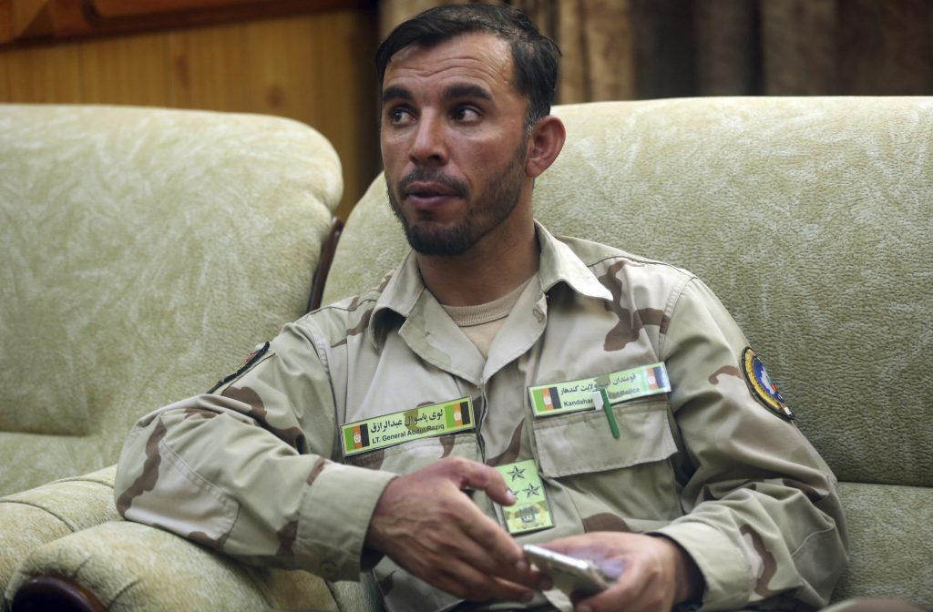 afghan killed