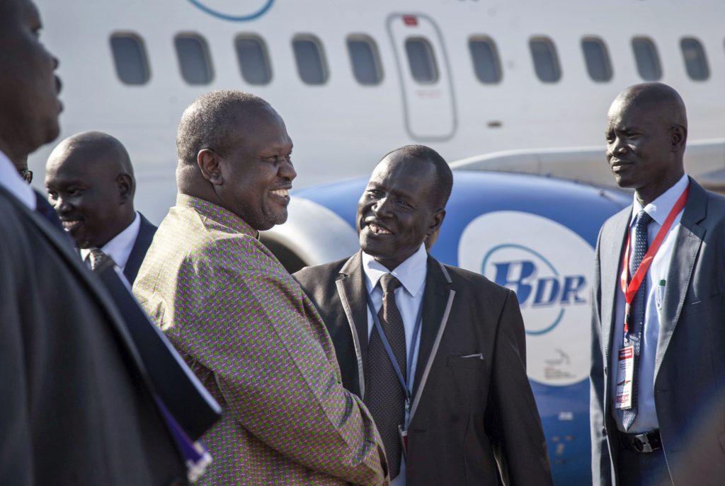 south sudan opposition leader