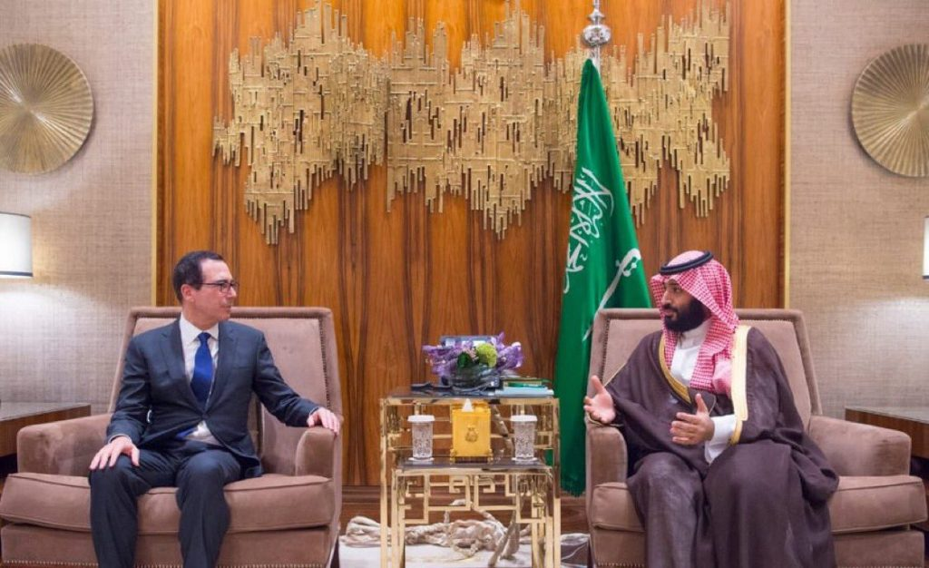 mnuchin saudi