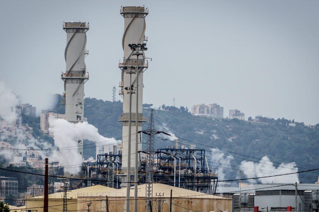 pollution Haifa