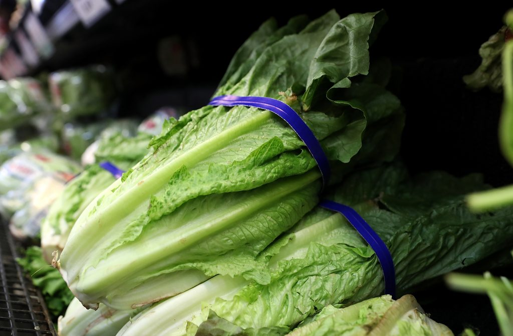 romaine lettuce e. coli