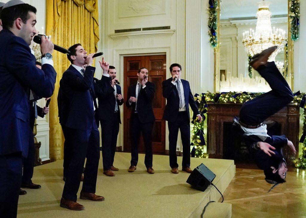 white house hanukkah