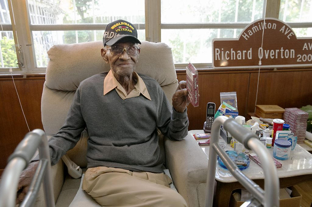 world war II, richard overton