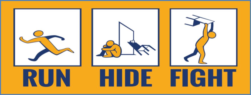 homeland security, run hide fight