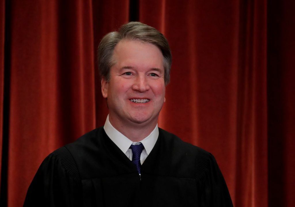 Supreme Court's Justice Kavanaugh Issues First Opinion in ...