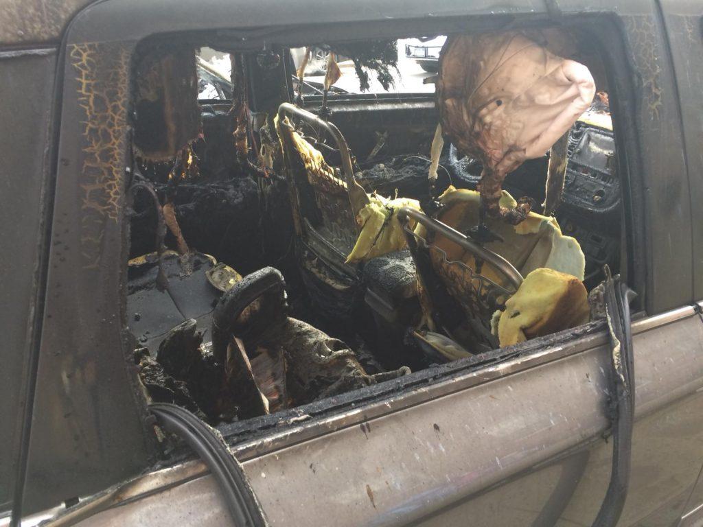 car explosion