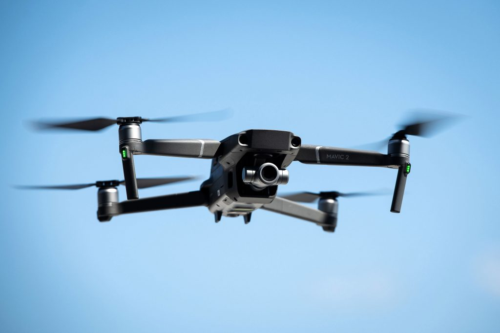 drones crowds