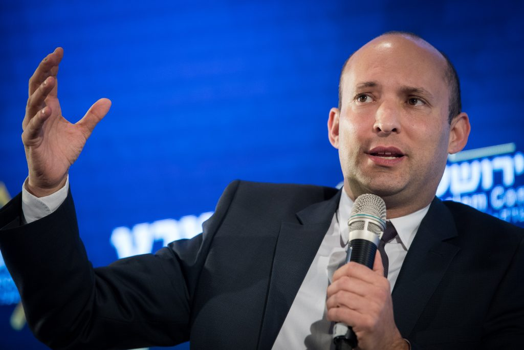 naftali bennett, ayelet shaked, israel new right