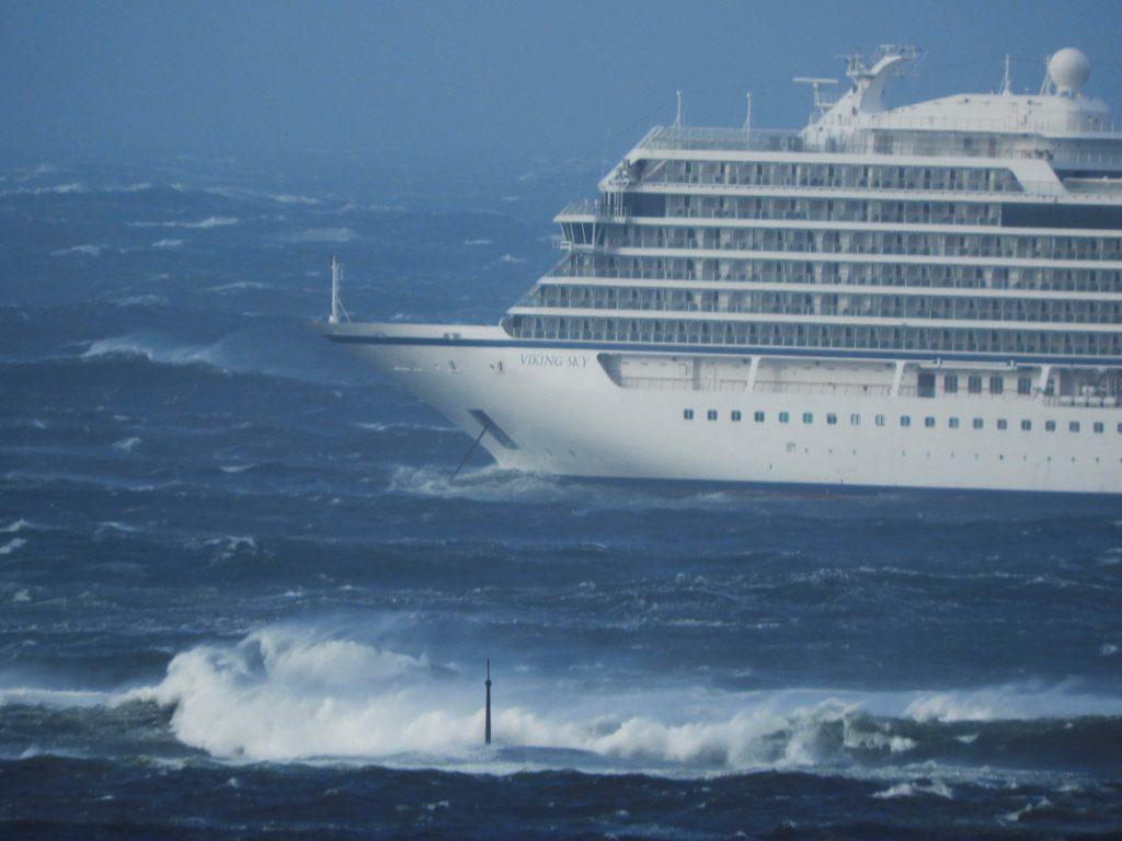 cruise ship engine