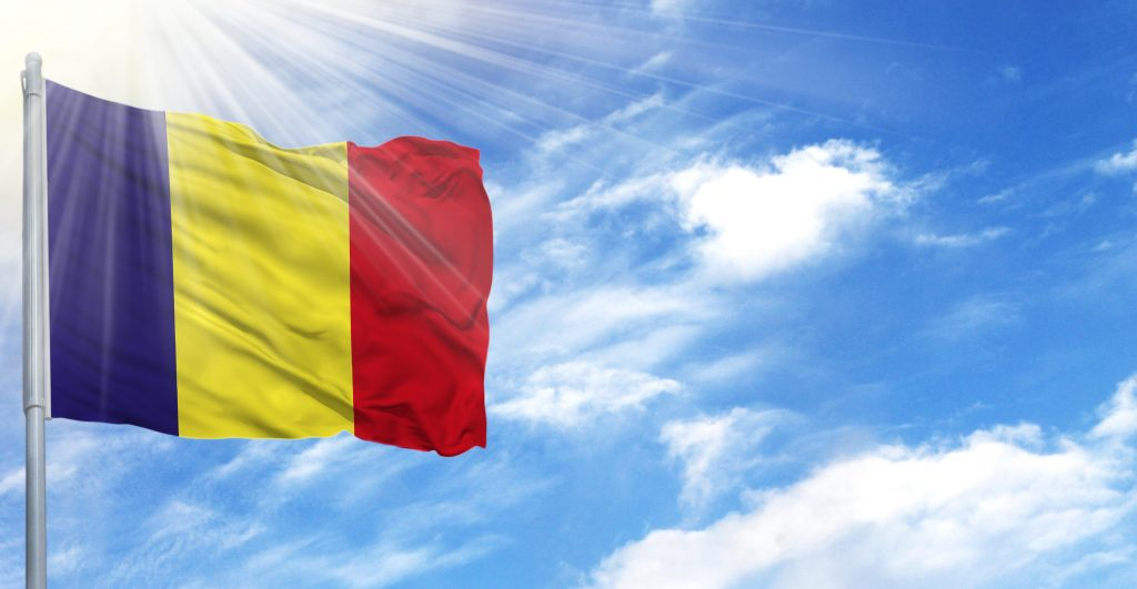 romanian flag, romania embassy