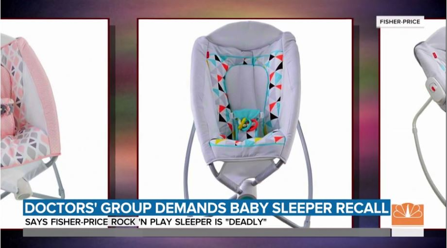 Pediatrician Group Urges Recall Of Baby Rocker Linked To