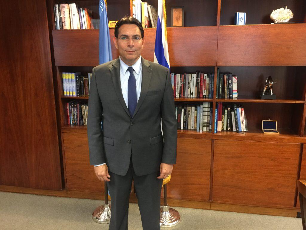 danny danon, israel peace plan
