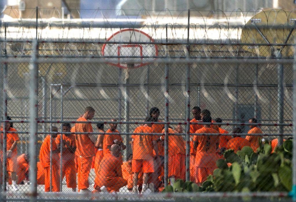 black men prison