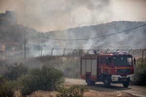 israel fires