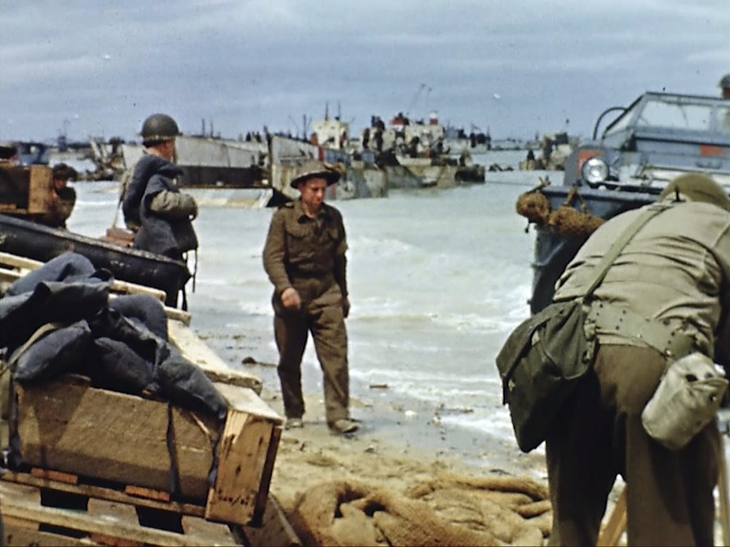 D-day color