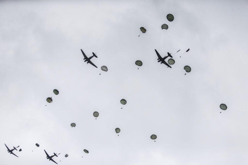 D-Day parachute