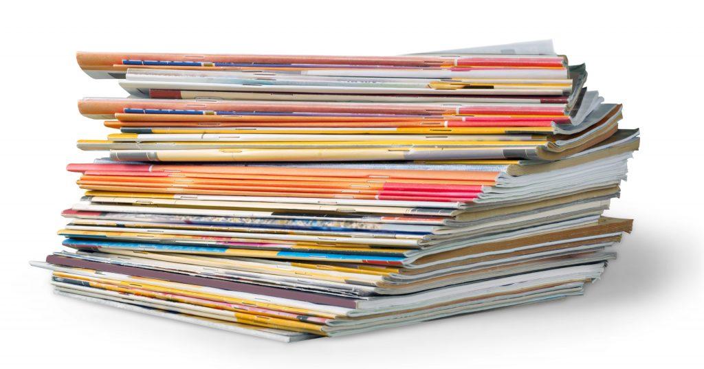 block merger, magazines