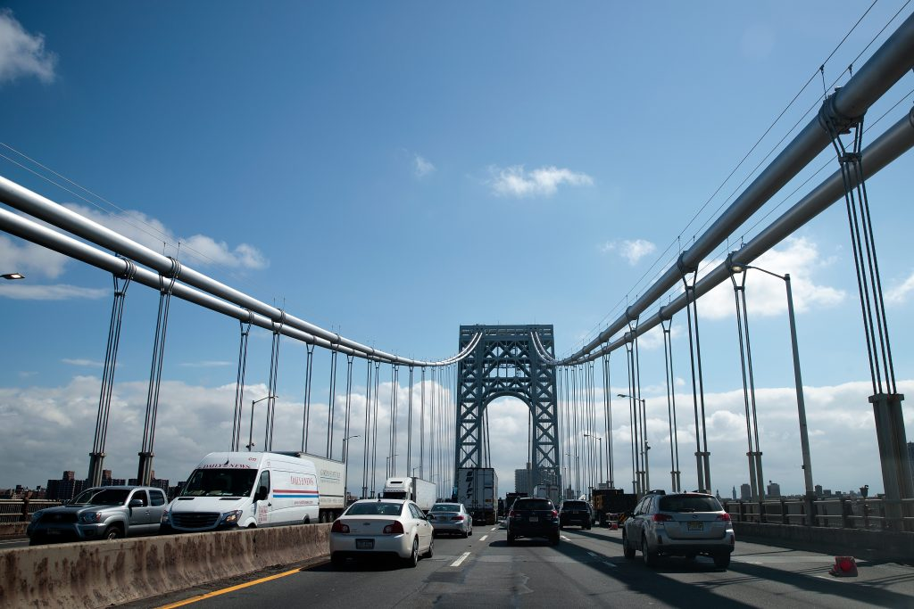 bridge tolls, george washington bridge