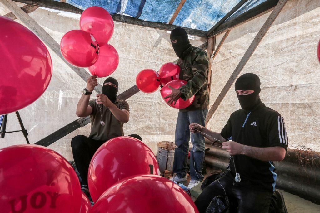 gaza balloons