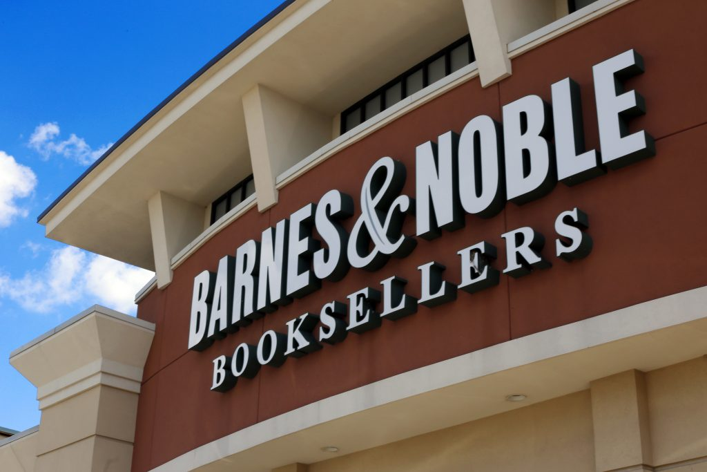 Barnes & Noble sold