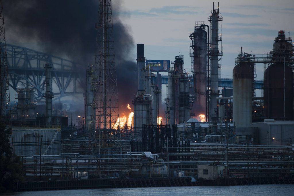 philadelphia refinery fire